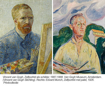 Munch-Van Gogh exhibition, Amsterdam