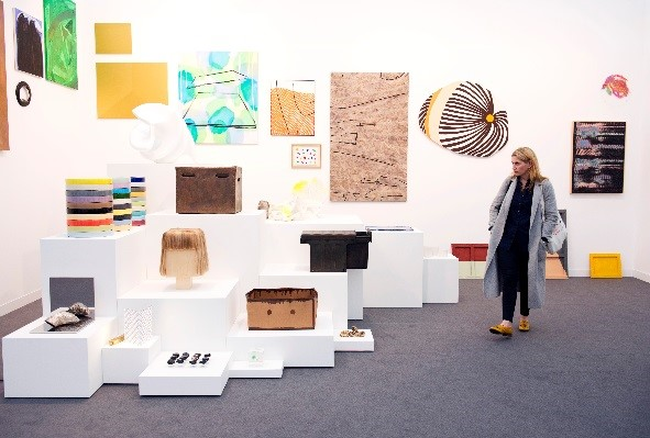 Frieze London 2016. Photograph by Linda Nylind. Courtesy of Linda Nylind/Frieze.