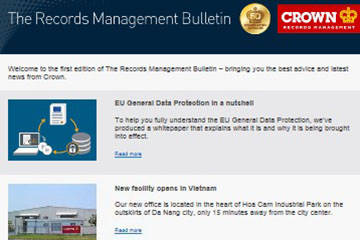 Crown news direct to your inbox