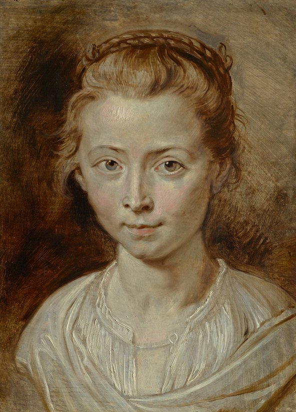 Peter Paul Rubens' painting of his daughter will be sold at Christies in July