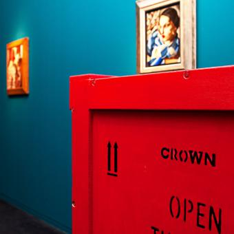 Crown Fine Art was responsible for the exhibition's complete logistics