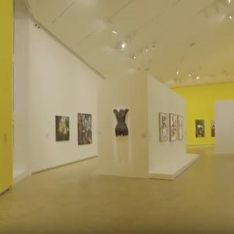 Historical and contemporary works from Central and West Africa were on display at Fondation Clément